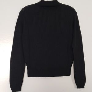 Cable & Gauge Sweaters - Cable & Gauge sweater black sz S